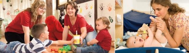 Babyurlaub im Familotel Borchard Rookhus