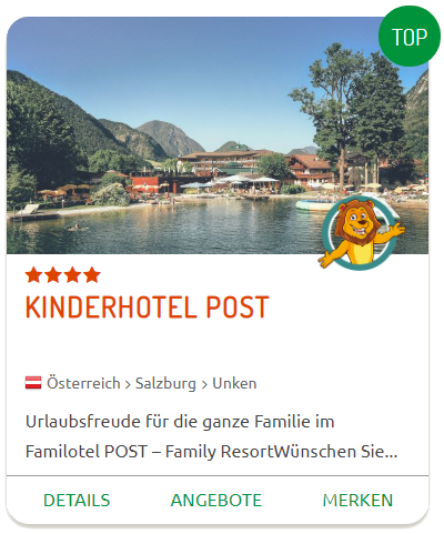 Babyurlaub im Kinderhotel POST
